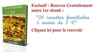 ebook gratuit de recettes