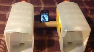 enceinte iphone diy