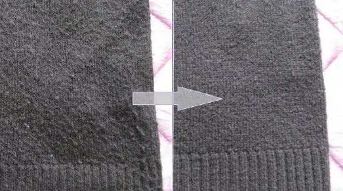 comment enlever les bouloches sur un pull en laine le truc incroyable. Black Bedroom Furniture Sets. Home Design Ideas