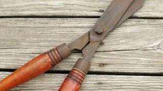 enlever rouille outils jardin