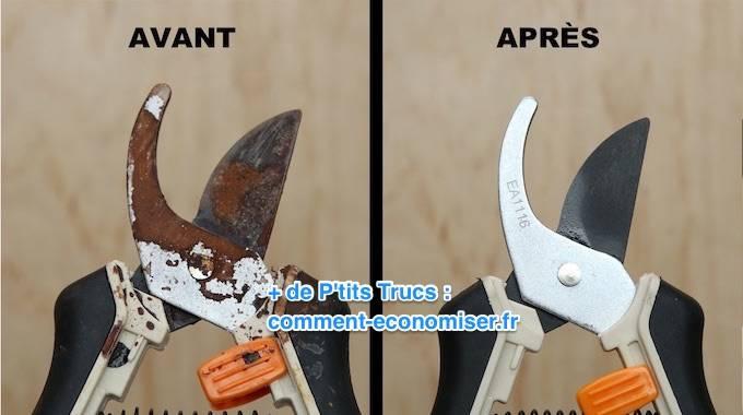 3 astuces super efficaces pour liminer la rouille facilement for Produit pour nettoyer la rouille