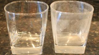 enlever traces calcaire verres