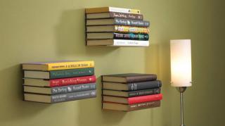 étagères à livres ingénieuses