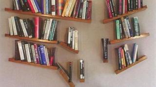 Etagères livres invisibles