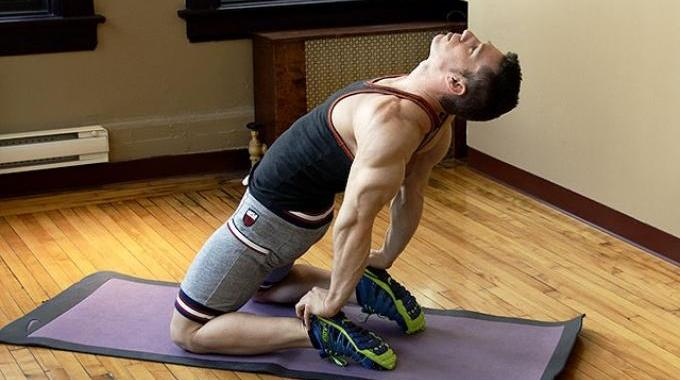 Musclez-vous l'Avant des Cuisses en Faisant le «Levier».