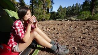 faire du café en camping