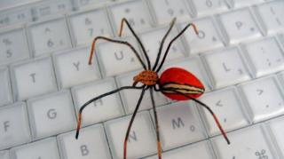 fake spider