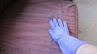gant de vaisselle poils