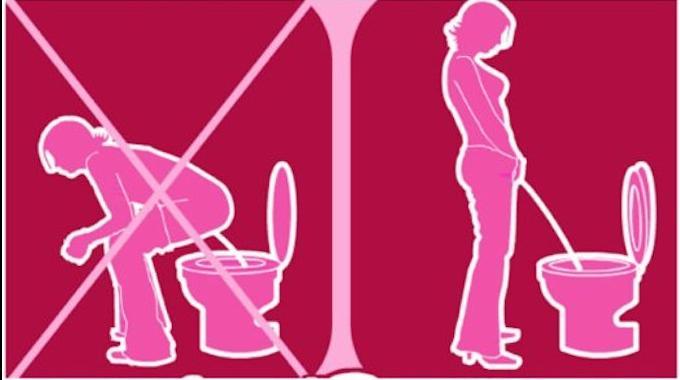 Gogirl enfin un urinoir qui permet aux filles de faire - Chaise pour faire pipi ...