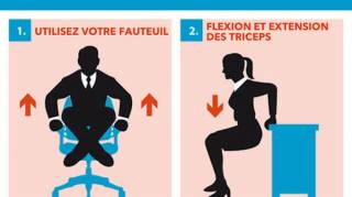 guide exercices sport au bureau