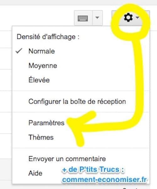 Vous utilisez gmail ces raccourcis clavier vont vous for Raccourci pour fermer une fenetre