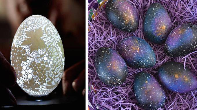 17 Idées Géniales Pour Décorer Les Oeufs De Pâques