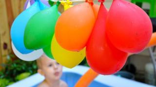 idées jeux jardin eau enfants
