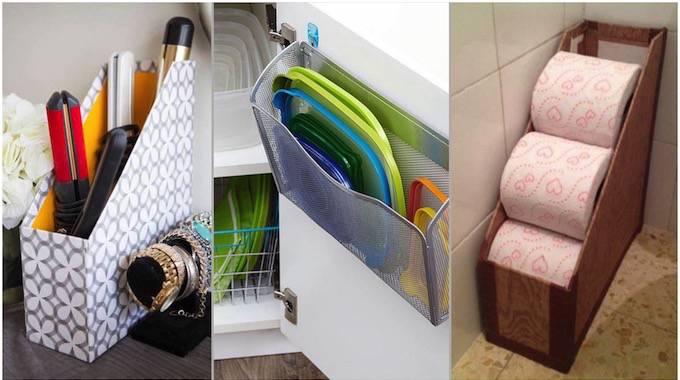 28 utilisations g niales des porte revues pour ranger toute la maison. Black Bedroom Furniture Sets. Home Design Ideas