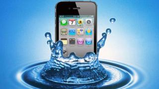iPhone Eau mouillé