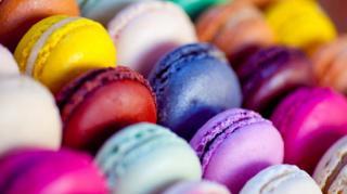 macaron de toutes les couleurs