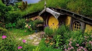 maisons de fées nature magique