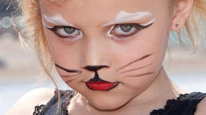 3 id es de maquillage halloween 100 maison pour une f te - Maquillage chat enfant ...