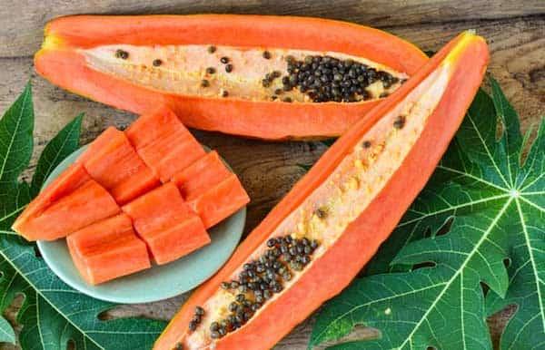 masque vivifiant à la papaye