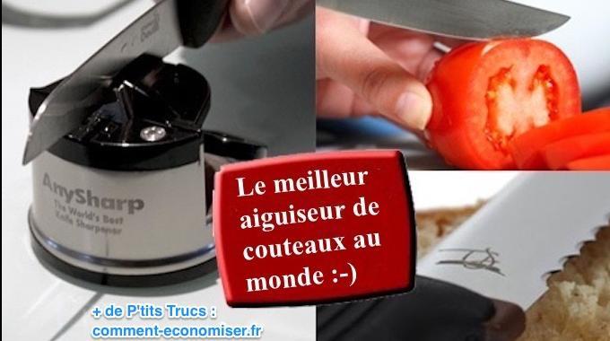 produit malin : certainement le meilleur aiguiseur de couteaux au ... - Meilleur Couteau De Cuisine Du Monde