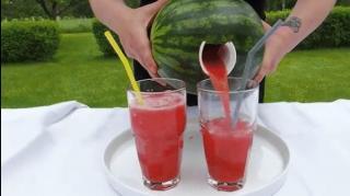 meilleure méthode pour manger boire pastèque