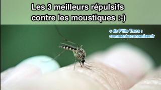 meilleurs répulsifs contre moustiques naturels
