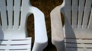 meubles plastiques raviver blanchir couleur