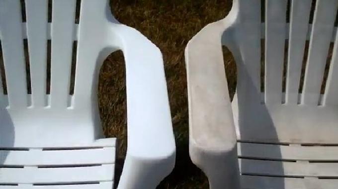 l 39 astuce pour raviver les couleurs de vos meubles plastique. Black Bedroom Furniture Sets. Home Design Ideas