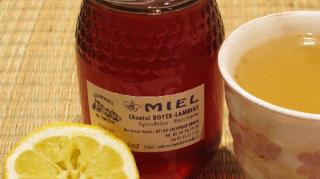 miel pour guérir rhume vite