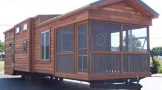 mini-maison sur roues