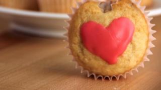 muffins en forme de coeur