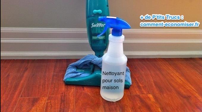 enfin la recette du nettoyant pour sols qui ne laisse aucune trace. Black Bedroom Furniture Sets. Home Design Ideas