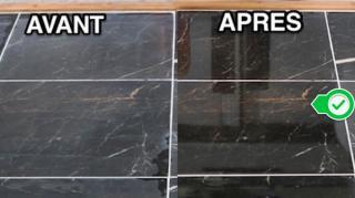 nettoyer marbre facilement et briller