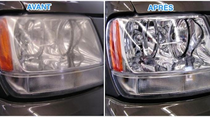 voici la nouvelle astuce pour nettoyer les phares de votre voiture. Black Bedroom Furniture Sets. Home Design Ideas
