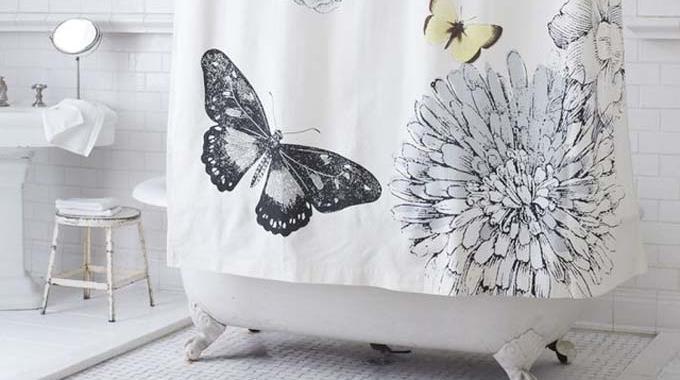 comment nettoyer un rideau de douche. Black Bedroom Furniture Sets. Home Design Ideas