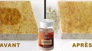 nettoyer tache gras sol en pierre naturelle