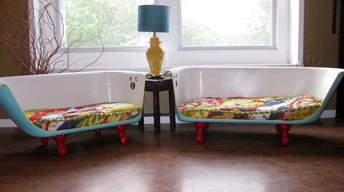 22 objets recycl s que vous aimeriez bien voir chez vous. Black Bedroom Furniture Sets. Home Design Ideas