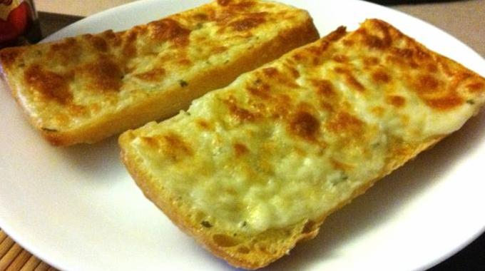 Baguette grill e au gruy re une recette hyper conomique - Comment faire griller du pain au four ...