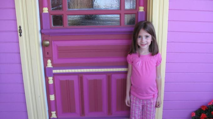 comment peindre une porte sans faire de traces sur la poign e. Black Bedroom Furniture Sets. Home Design Ideas
