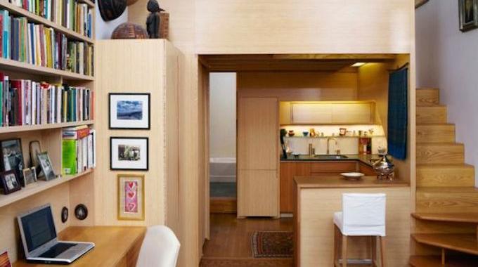 8 nouvelles astuces pour gagner de la place dans votre p for Astuce petit appartement
