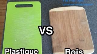 planche découper bois ou plastique laquelle choisir