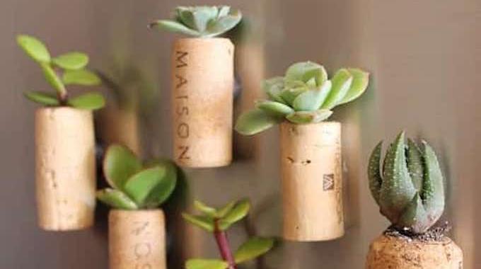Comment Faire des Mini Pots de Fleurs en Bouchons de Bouteille.