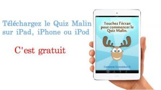quiz malin ipad mini iphone