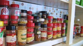 rangement épices cuisine