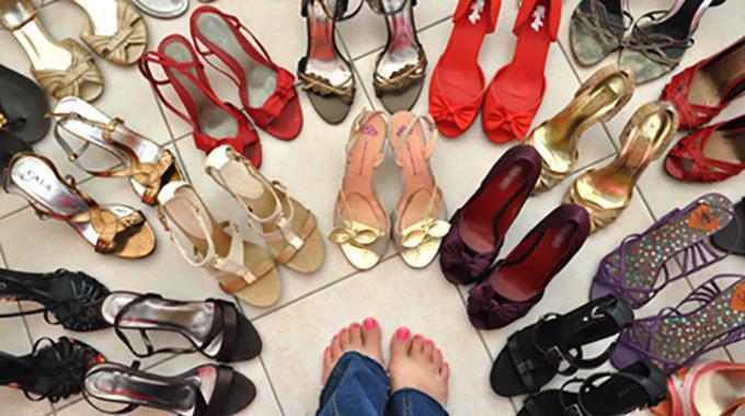 L 39 astuce ing nieuse pour celles qui ont beaucoup de - Astuce pour ranger chaussures ...