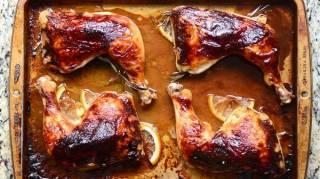 recette-facile-economique-recevoir-cuisse-dinde-laquee