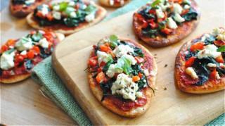recette-facile-pas-chere-tartine-pizza-chevre