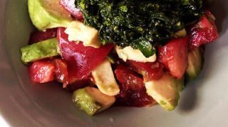 recette-legere-pas-chere-tartare-avocat-tomates