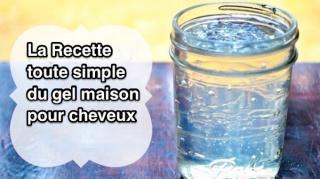 recette maison gel naturel