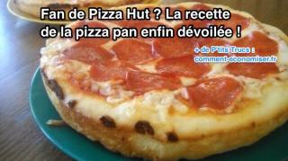recette pizza hut pan maison
